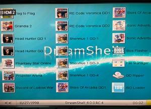 Image 5 - محول قارئ البطاقات SD ريتروسكالر + قرص مضغوط مع dreamshell_boot_لودر لوحدة تحكم ألعاب تيار مستمر دريم كاست + بطاقة ذاكرة SD سعة 32 جيجابايت مع ألعاب تيار مستمر