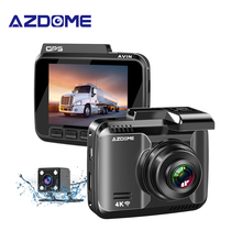 AZDOME 2 4 inch GS63H HD DVR Built in GPS 4K LCD Screen Wide Angle Dash Cam Night Vision WiFi Register WIth Rear Camera cheap Novatek Portable Recorder Class 10 2-5 minutes (Full power) 170° Car DVR 2880x2160 Internal G-sensor Motion Detection Cycle Recording