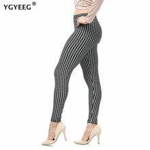 YGYEEG Hot wysoka elastyczna konstrukcja Vintage Graffiti legginsy wzór w kwiaty drukuj legginsy dla kobiet wysokiej jakości legginsy sprzedaż 2020