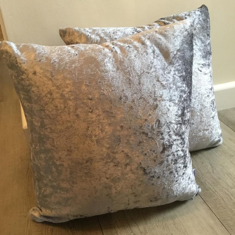 15colors Pillow Cover Ice Velvet Cushion Cover For Living Room Sofa 45*45 Kussenhoes Grey Home Decorative Housse De Coussin