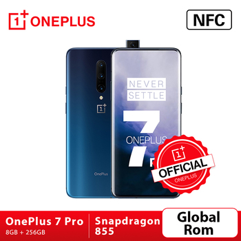 Перейти на Алиэкспресс и купить В наличии, смартфон OnePlus 7 Pro с глобальной прошивкой, камера 48 МП, Восьмиядерный процессор Snapdragon 855, 6,67 дюйма, 2K + жидкий AMOLED экран, разблокировк...