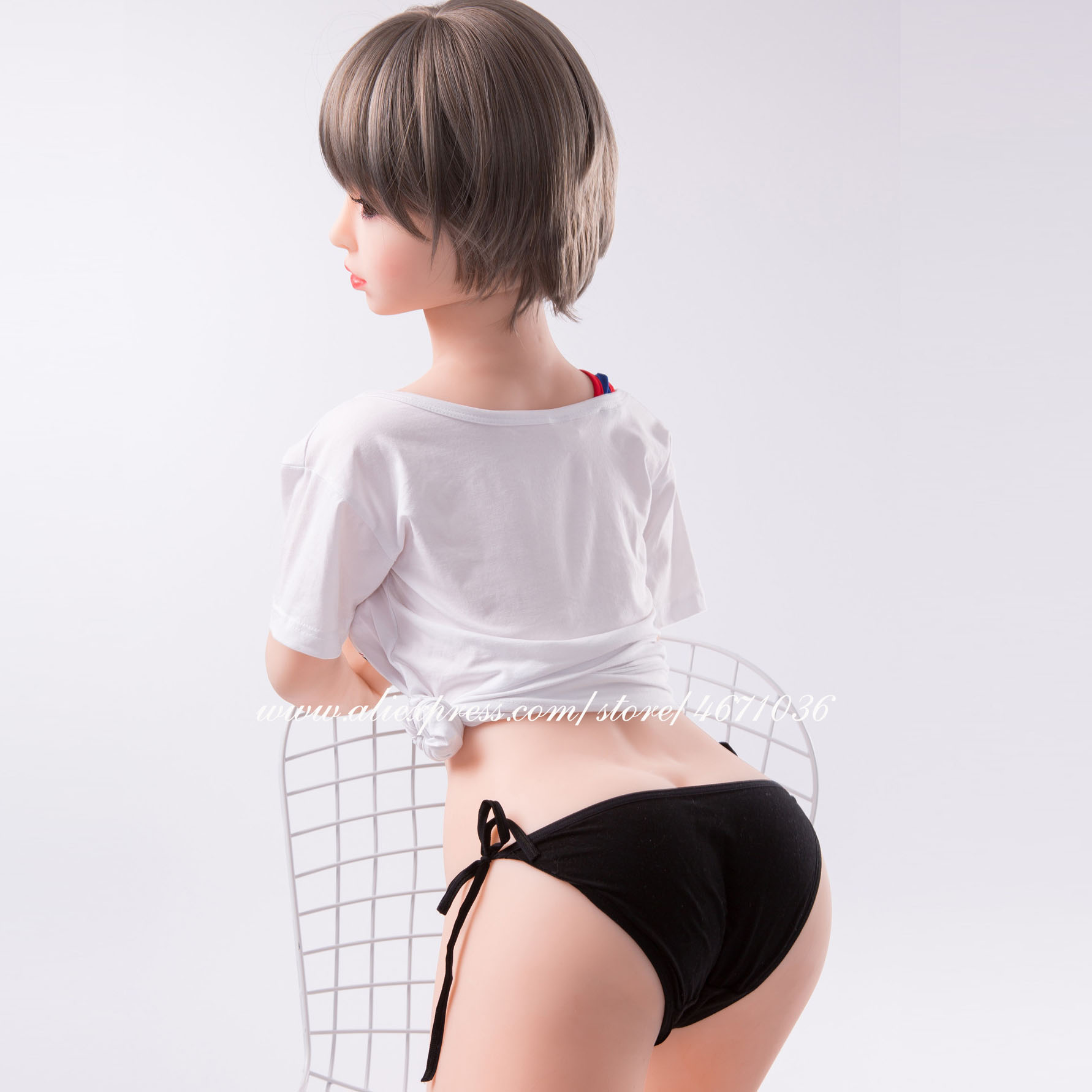 Image 4 - Real Full Silicone Sex Doll 165cm Japanese Sexy Toys for Men Big Breast Big Ass Adult Love Doll Realistic Oral Vagina Anal-in Sex Dolls from Beauty & Health