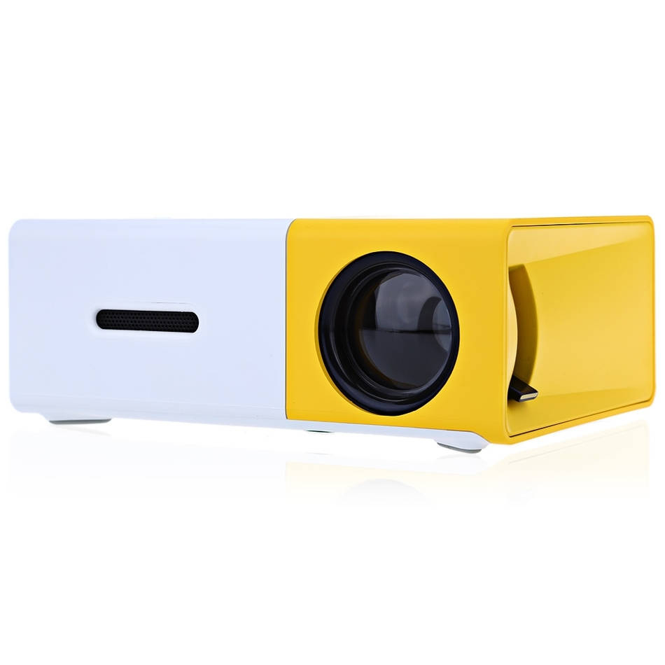 Salange LED Projector Media-Player YG-300 Mini Home Theater Lcd Beamer Audio HDMI USB title=