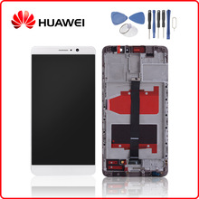 Original For HUAWEI Mate 9 LCD Display Touch Screen Digitizer For Huawei Mate9 Display with Frame Replacement MHA L09 MHA L29