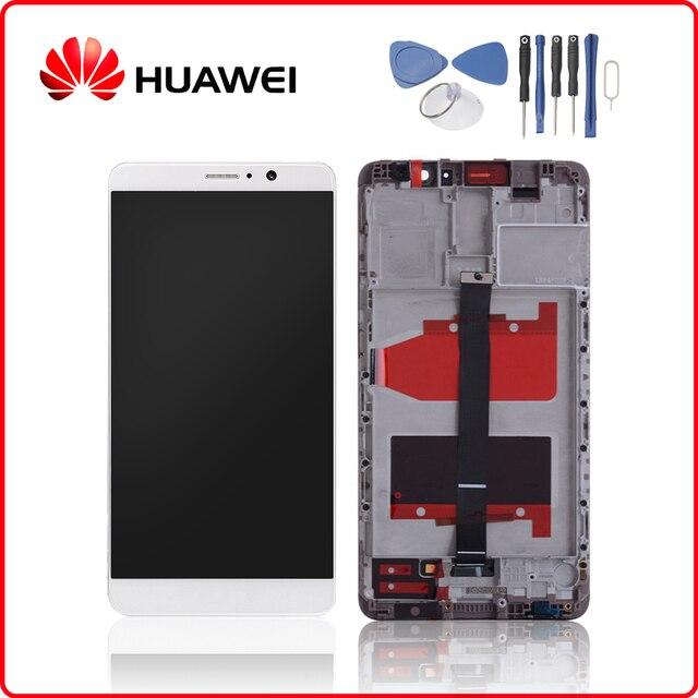 Оригинальный Для huawei mate 9 ЖК дисплей сенсорный экран дигитайзер для huawei mate 9 дисплей с рамкой Замена MHA L09 MHA L29
