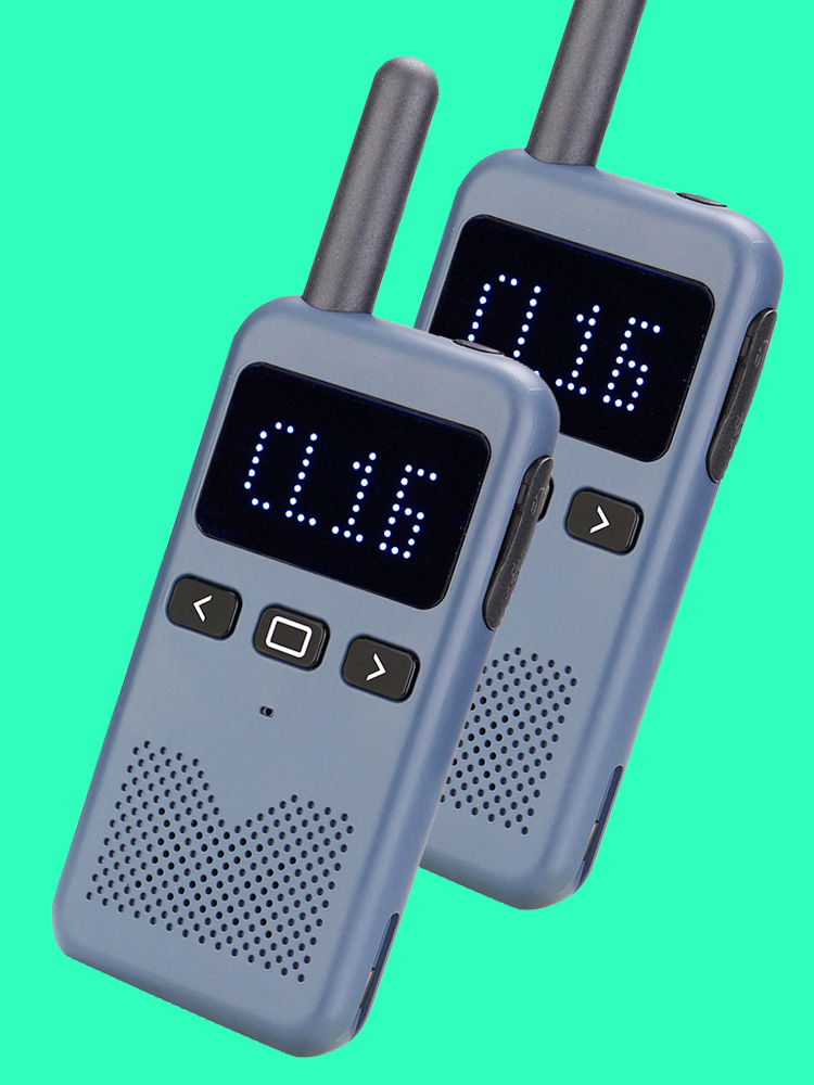 Retevis Walkie-Talkie Radio Pmr RB19 PMR446 Charge FRS 2pcs Matrix Dot Displaytype-C