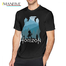 Horizon Zero Dawn T Shirt Horizon Zero Dawn T-Shirt Short-Sleeve Male Tee Shirt 6xl Print Awesome Summer Tshirt поло print bar horizon zero dawn
