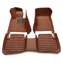 цена на Full Covered No Odor Waterproof Carpets Durable Special Car Floor Mats for VOLVO S40 S80L XC60 S60L S90 XC90 S60 V90 S80 C30 S40