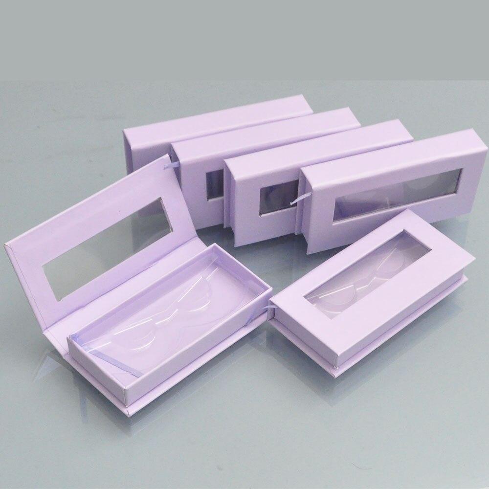 100 pacote personalizado logotipo lash caixas de