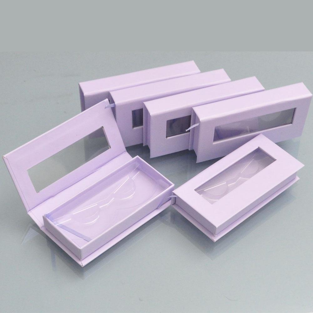 100 pacote personalizado logotipo lash caixas de embalagem caixa cilios falso cils 25mm vison cilios tira