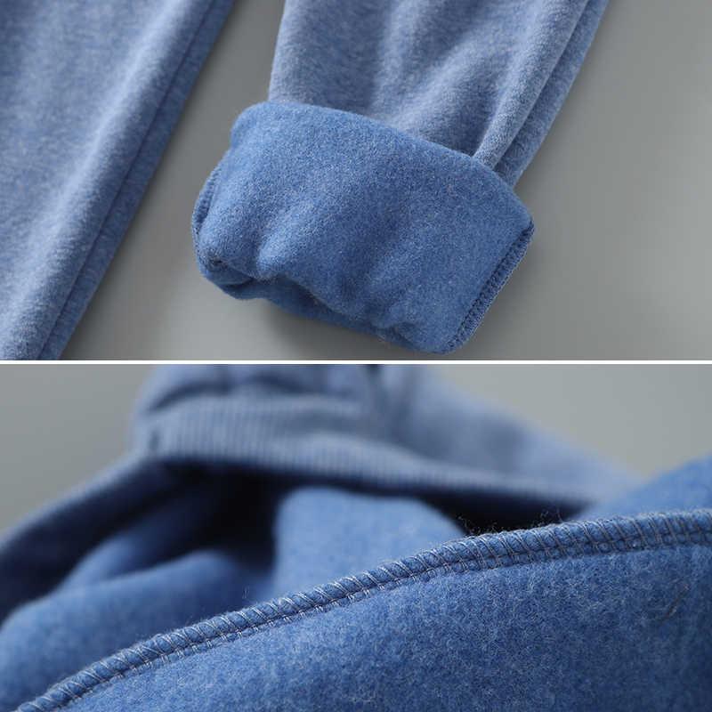 Otoño Invierno Harem pantalones cálidos de terciopelo grueso de Cachemira pantalones Color caramelo mujeres sueltas invierno casual mujeres pantalones M-XL