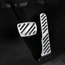 For  Cadillac CT6 car pedal gas foot rest stainless modified pad non slip performance aluminium fuel