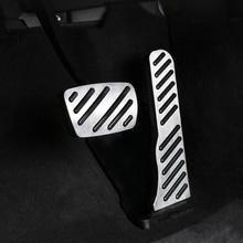 купить For  Cadillac CT6 car pedal gas foot rest stainless modified pad non slip performance aluminium fuel по цене 783.61 рублей