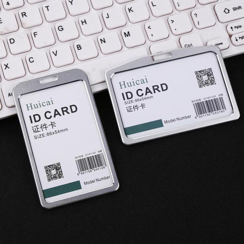 Business Card Case Holder Credit Card Holder Metal Box Cover Men Women Business ID Card Holder Wallet