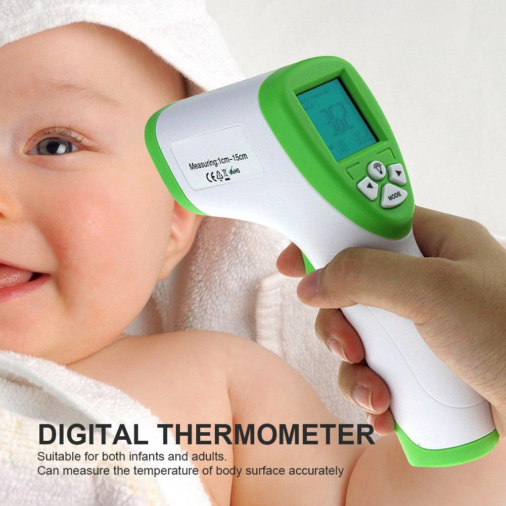 New Digital Thermometer Temperature Meter Gun Infant Baby Adult Body