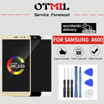 "OTMIL 5.6""AMOLED For SAMSUNG A600 LCD Display Touch Screen Digitizer For SAMSUNG Galaxy A6 2018 LCD A600F A600FN A600 Display #1"