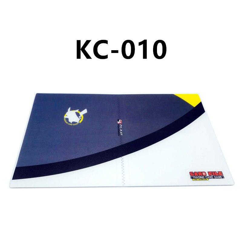 24 стиля Pokemon Cards альбом книга мультфильм аниме Карманный Монстр Пикачу 240 шт держатель альбомная игрушка для детей подарок - Цвет: KC-010