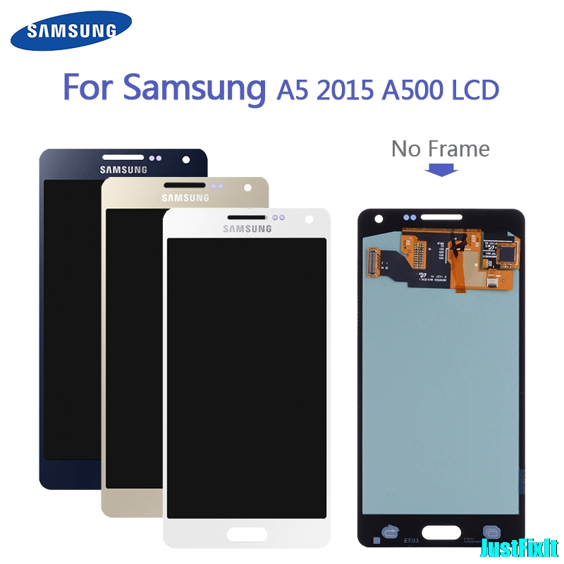 100% Original Replacement <font><b>LCD</b></font> Display For <font><b>Samsung</b></font> Galaxy A5 2015 <font><b>A500</b></font> A500F A500FU A500M A500Y A500FQ image