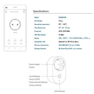 Image 5 - Xiaomi IMILAB ZNCZ05CM EUสมาร์ทซ็อกเก็ตปลั๊กไร้สายMi WIFI Smart Plugอัจฉริยะสวิทช์เวลาประหยัดพลังงานรีโมทคอนโทรล