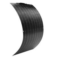 Solar Panel 100w 200w 16V 12V 24V Light weight Flexible Solar Panel Mono crystalline cells solar battery charger