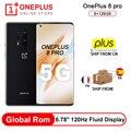 Rom Global Oneplus 8 Pro 5G Smartphone Snapdragon 865 8G RAM 128G ROM 6,78 120Hz pantalla Android10 30W cargador de NFC