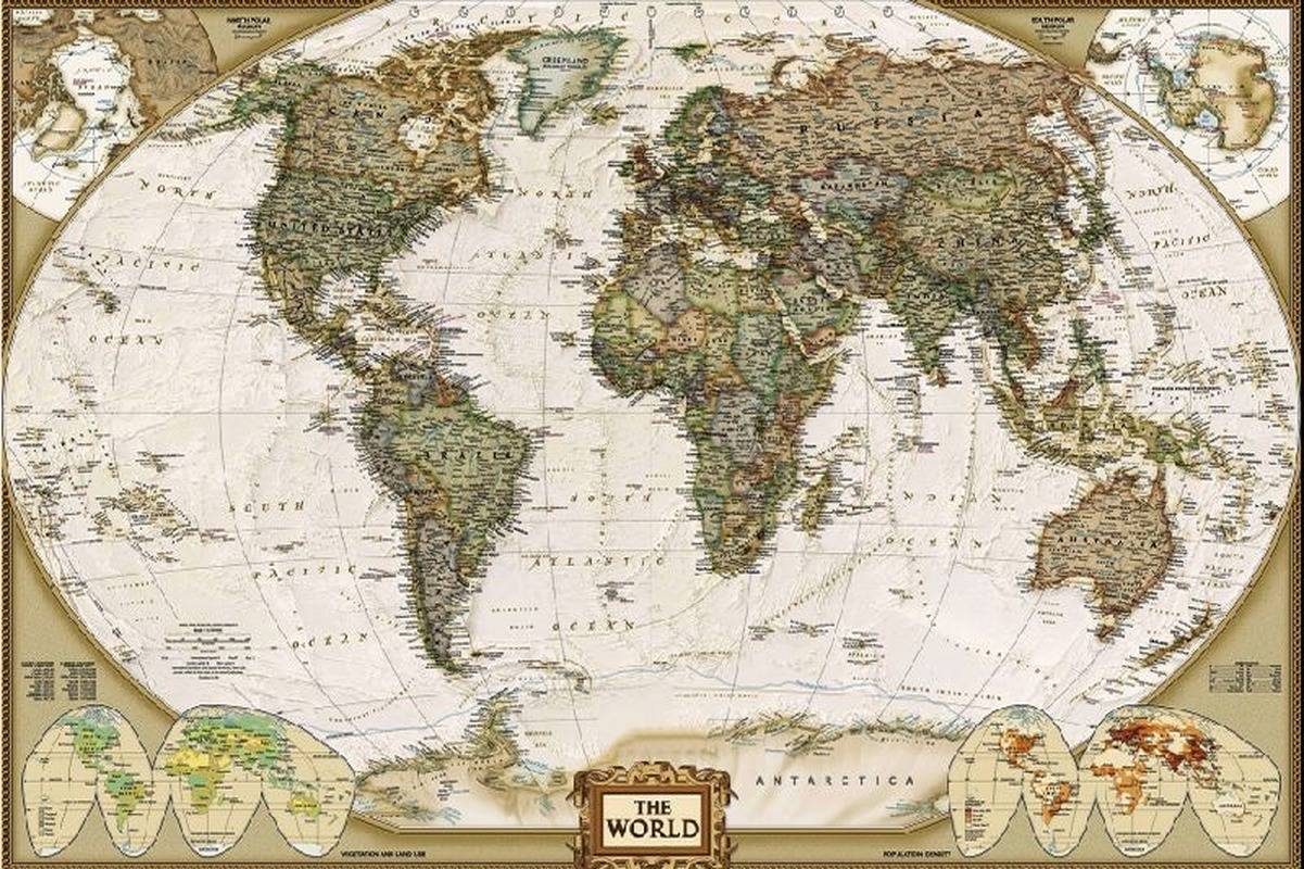 50*75CM 1000Pcs Jigsaw Puzzle World Map Jigsaw Puzzle Retro DIY Toy Puzzle Toy For Kids Interesting Toys Personalized Gift