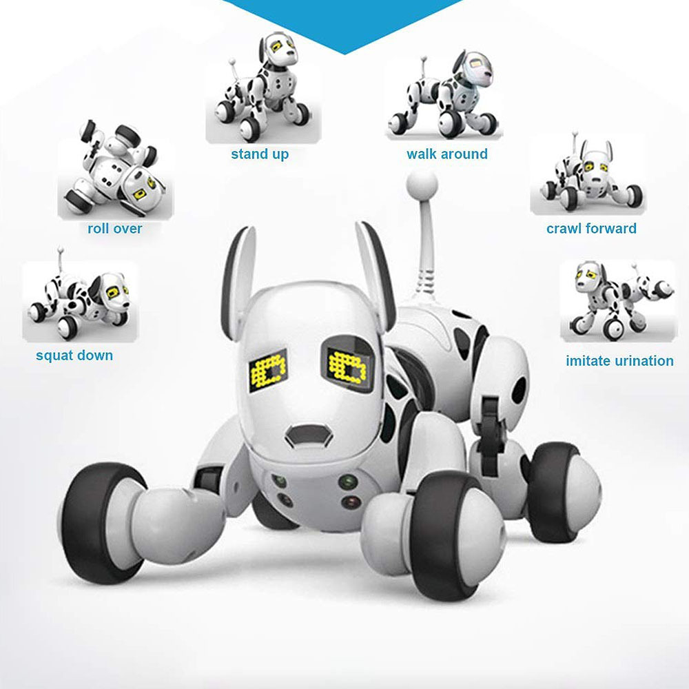 2.4G Smart Robot Dog Electronic Pet Intelligent Dancing Dogs Robots RC Toy Wireless Talking Remote Control Kid Gift For Birthday