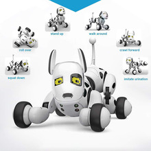 2.4G Smart Robot Dog Electronic Pet Intelligent Dancing Dogs Robots RC Toy Wireless Talking Remote Control Kid Gift For Birthday new intelligent rc robot funny indoor outdoor game toys 2 4g dancing battle model toy multi function remote control robots