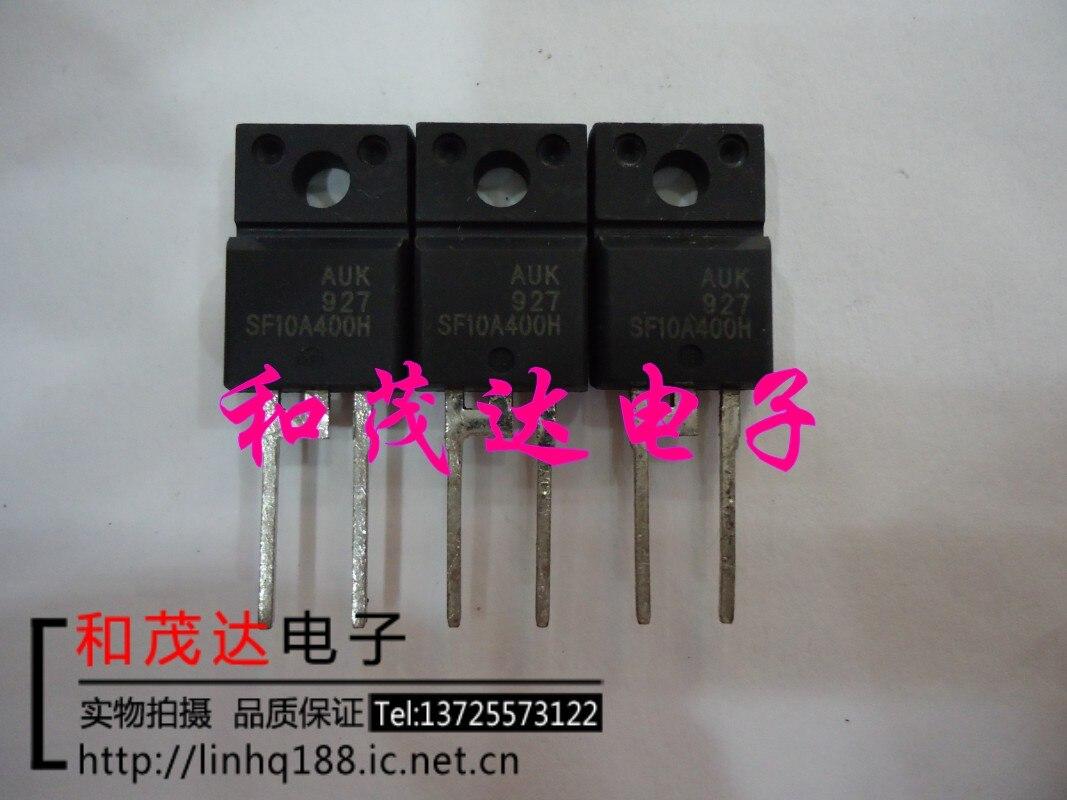 1 шт., новые оригинальные кнопки SF10A400H TO-220F-2 AUK 400V10A в наличии на складе