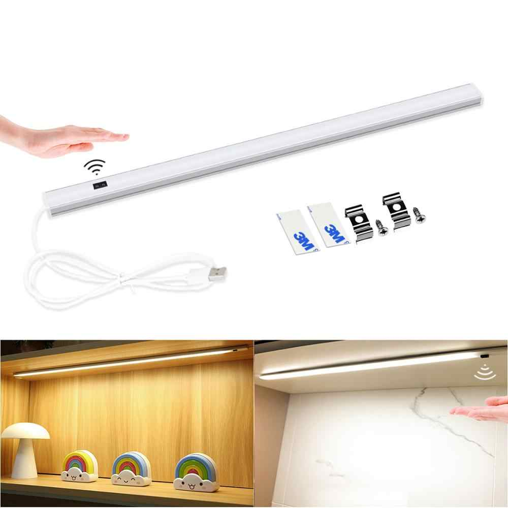 Kind Kid Student Bureau Tafellamp Room Decor Hand Scan Lezen Verlichting 5V Smart Motion Keuken Closet Stijve Led strip Nachtlampje