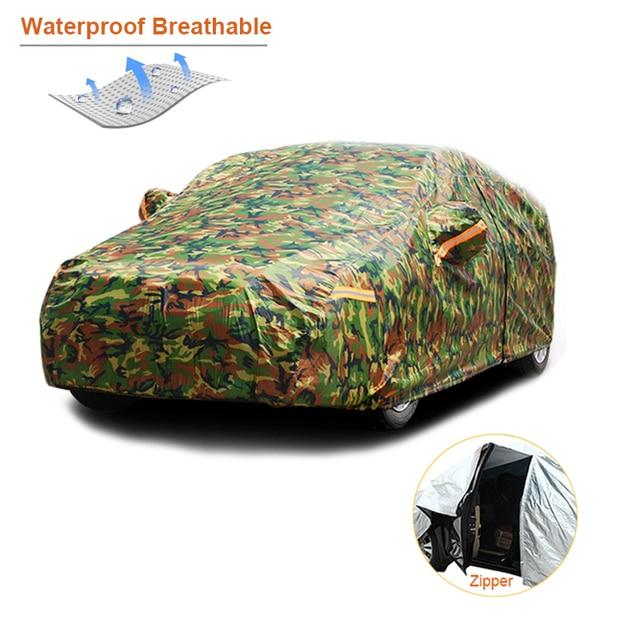 Kayme Водонепроницаемый Камуфляж автотентами открытый защиты от солнца Обложка для автомобилей отражатель пыль Дождь Снег защитный внедорожник седан полный