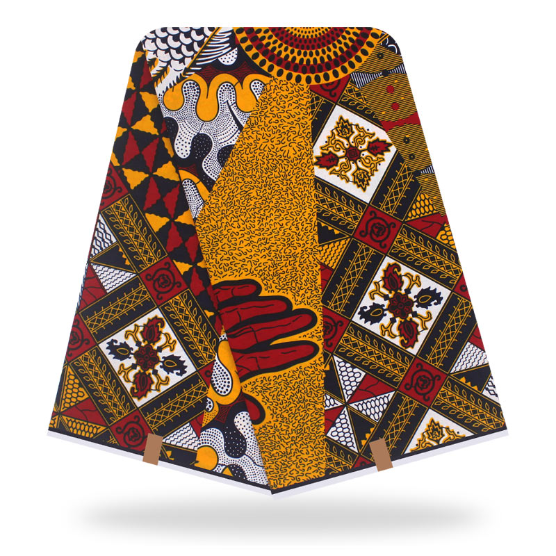 Dutch Wax African Dutch Veritable Ankara Fabric 2020 Latest African Fabric Print 100% Cotton Pagne Africain Hot Wax