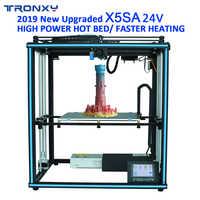 TRONXY 3D Printer X5SA PRO/X5SA-400/X5SA 24V Large Print Size Power-off Re Touch Screen Auto Level 3d Machine PLA ABS Filament
