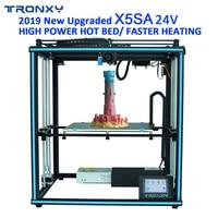 TRONXY 3D Printer X5SA PRO/X5SA 400/X5SA 24V Large Print Size Power off Re Touch Screen Auto Level 3d Machine PLA ABS Filament