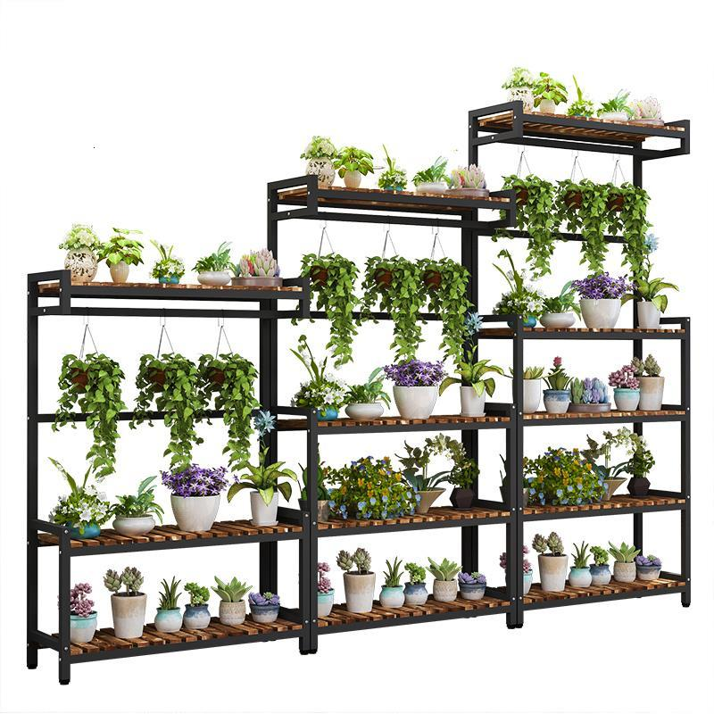 Estante Para Plantas Rack Living Room Estanteria Escalera For Varanda Stojak Na Kwiaty Balcony Flower Dekoration Plant Shelf
