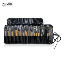 IMAGIC beginner makeup brush 24Pcs/set animal hair tools full set of eye shadow eyebrows blush loose powder