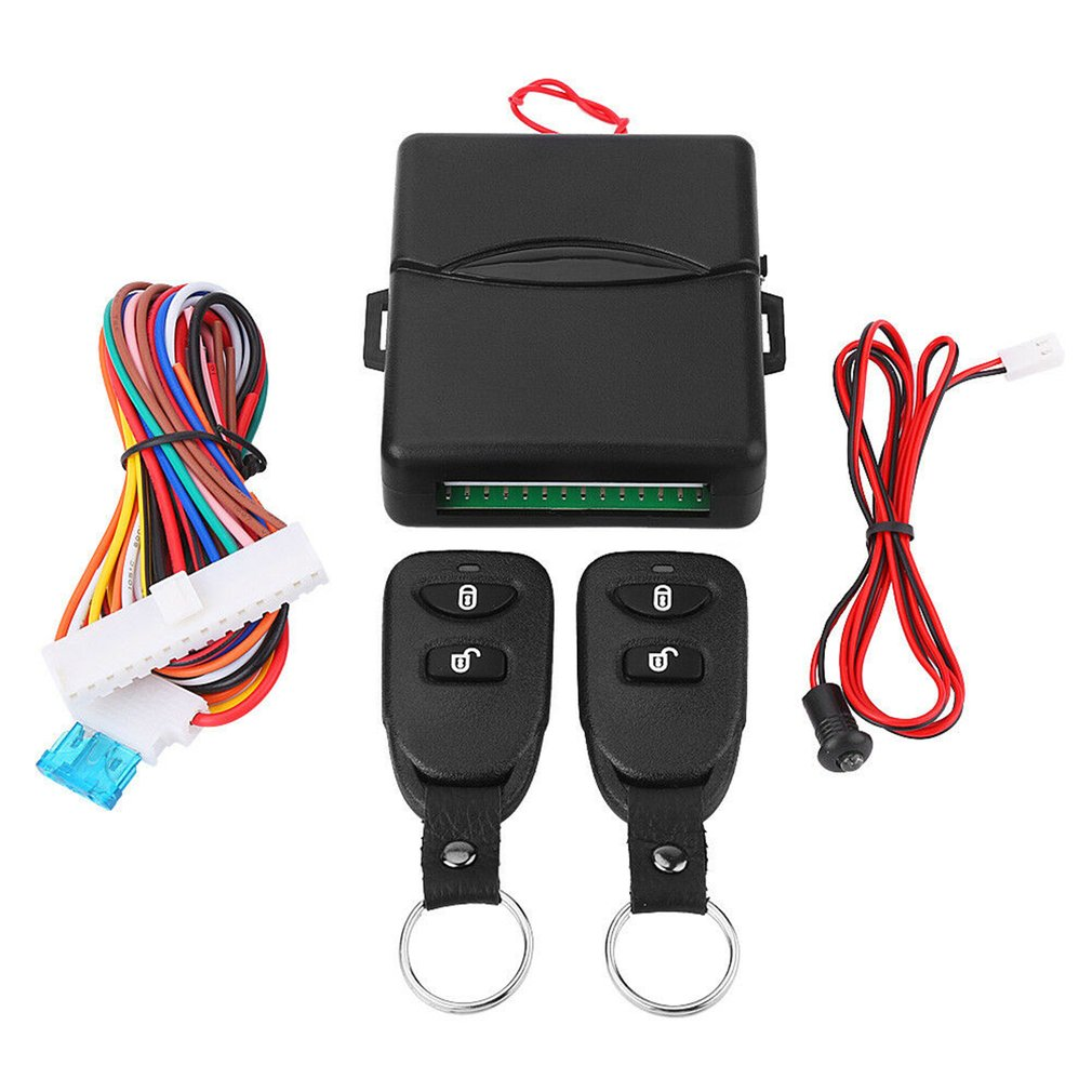 Car Remote Control Central Kit Door Lock Locking Keyless Entry System Universal Remote Control Car Alarm System