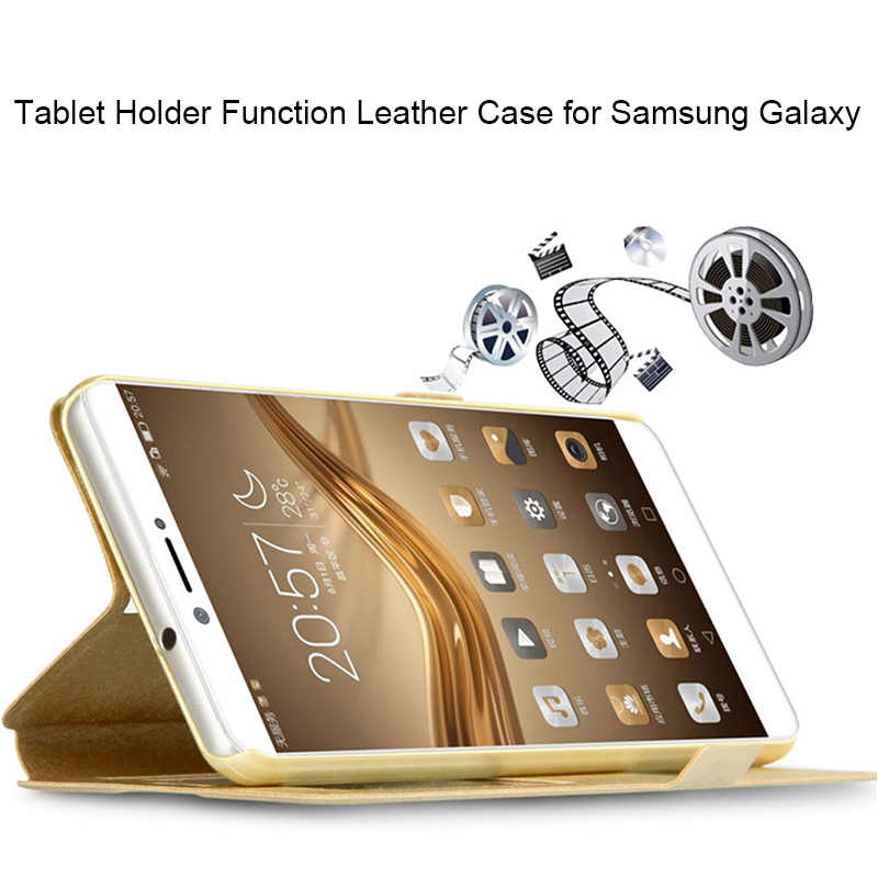 360 Funda de cuero completa para Samsung S9 S8 Plus S10 Lite funda de seda para Samsung S6 S7 borde S4 S5 S 9 Nota 9 8 5 4 3