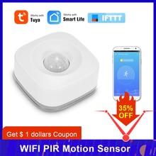 Sensor de movimiento PIR WIFI, Detector infrarrojo pasivo inalámbrico, alarma antirrobo de seguridad, Control por aplicación Tuya, casa inteligente