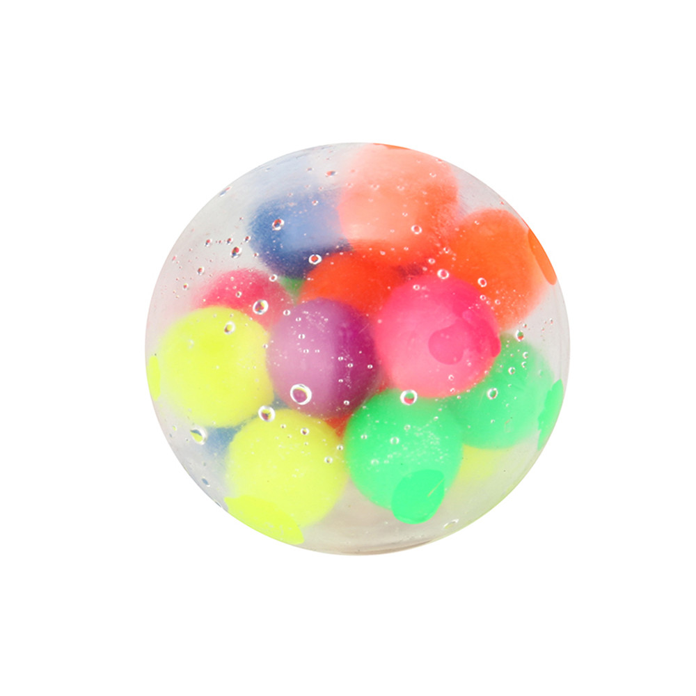 Non-toxic Color Sensory Toy Office Stress Ball Pressure Ball Stress Reliever Toy Squishies Slow Rising Stress Relief Squeeze Toy img2