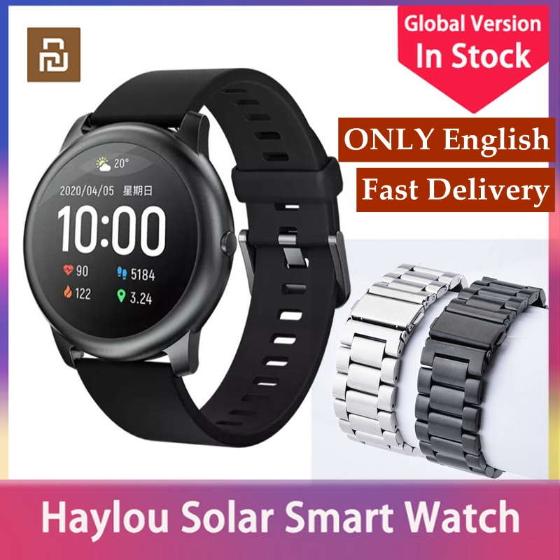 Youpin Smart Watch Haylou Solar LS05 Smartwatch Global Version Sports fitness tracker Waterproof Men Women watch For Android iOS