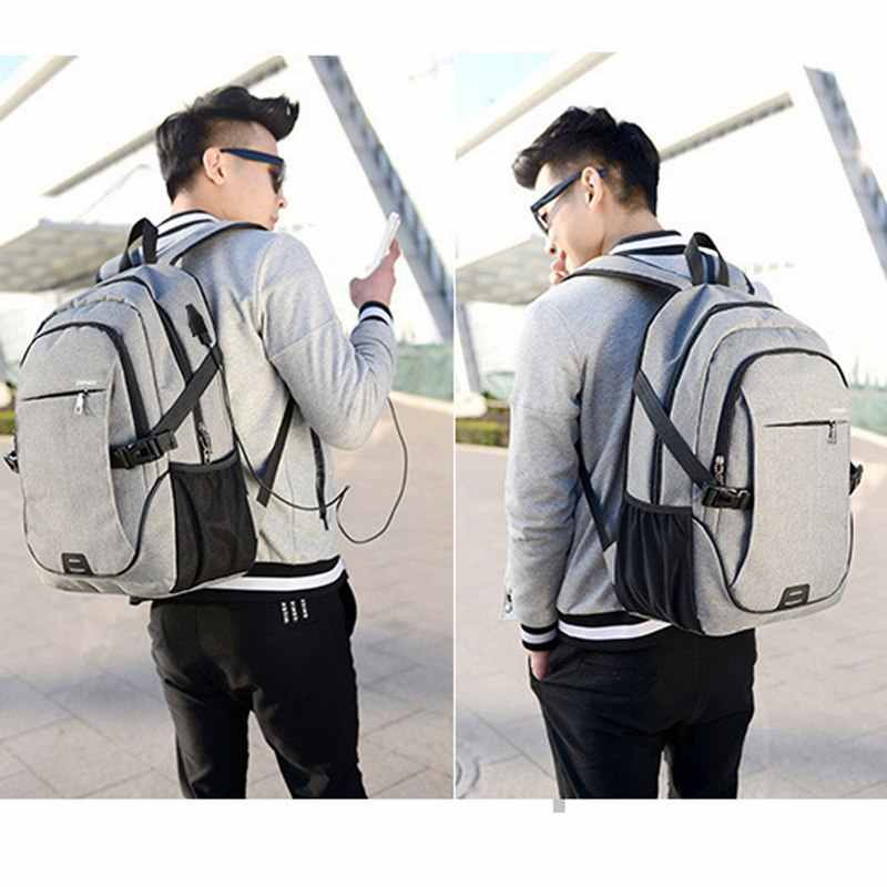 WENYUJH мужской рюкзак сумка бренд 15,6 дюймов ноутбук Mochila мужской водонепроницаемый рюкзак школьный рюкзак 32*18*48 см