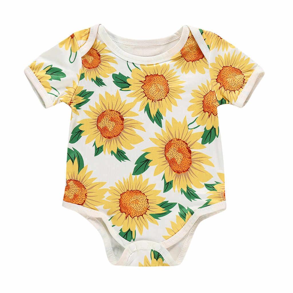 Mama/'s Little Sunflower Baby Bodysuit-Baby Girl Bodysuit-Sunflower Bodysuit