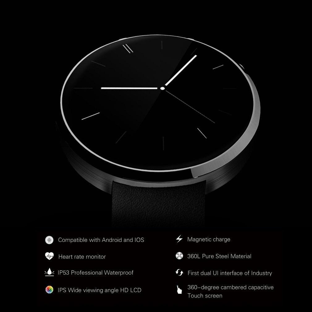 DM360 Black Waterproof Wrist Smart Watch Pedometer Stopwatch Anti lost Function Smart Alarm Clock Sedentary Reminder - 5