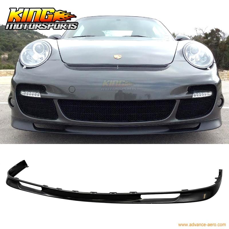 OE-Style Front Lip Fits 07-12 Porsche 997.2 911 Turbo Urethane