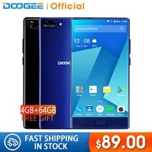 American Version DOOGEE MIX 4GB+64GB bezel-less Smartphone Dual Camera 5.5'' AMOLED MTK Helio P25 Oc