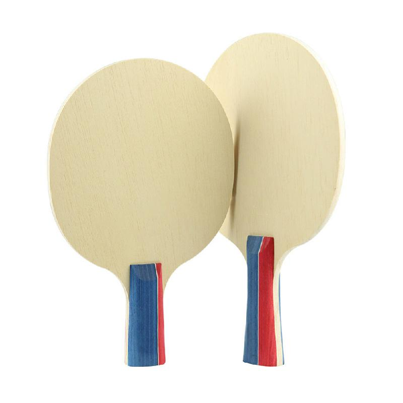 Table Tennis Bat Floor Ping Pong Bottom Plate Horizontal Shot Pat On Composite Wholesale L*W 260*150mm Light Weight Good Quality