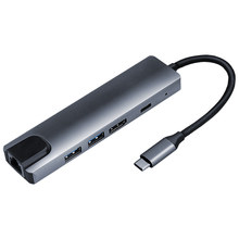 Station d'accueil 5-en-1 pour ordinateur portable, Type c vers HDMI PD, hub usb 3.0, adaptateur usb c HD, UGREEN pour lecteurs de cartes xiaomi, nouveauté 2020