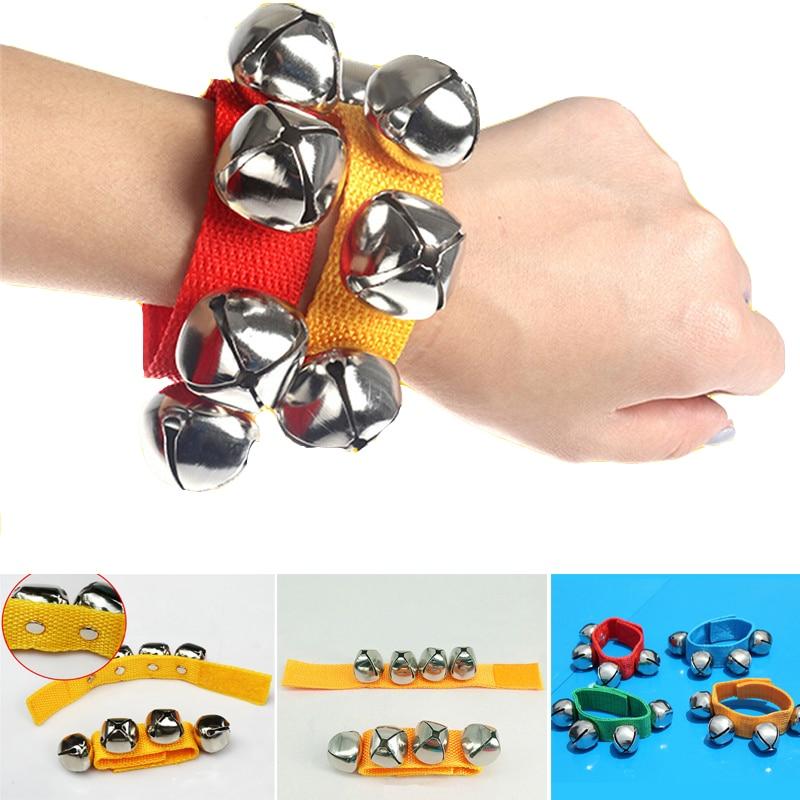 Детские музыкальные погремушки, игрушки для младенцев, руки, запястья, колокольчики, встряхивание ног, погремушки, мобильные игрушки, перку...