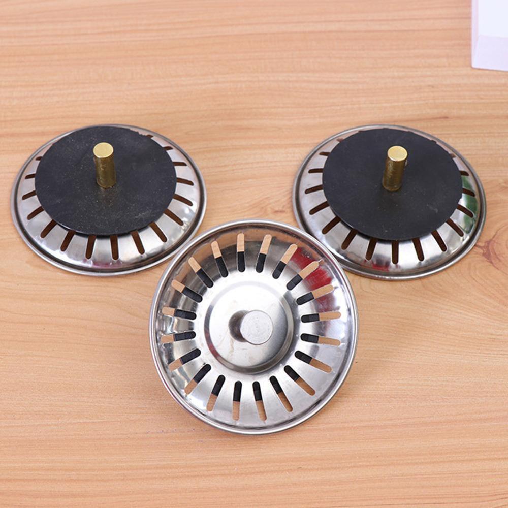1Pcs Kitchen Bathroom Sink Strainer Stopper Waste Plug Sink Deodorization Accessories Drain Sink